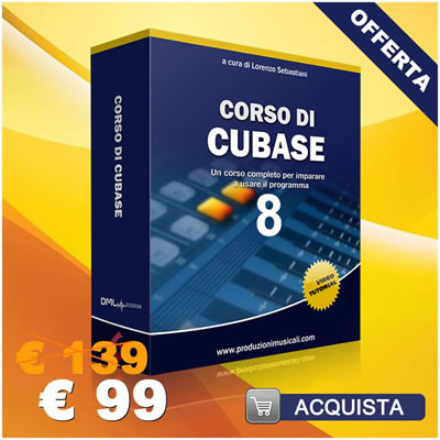 Cubase: corso di Cubase con 30 video tutorial Cubase